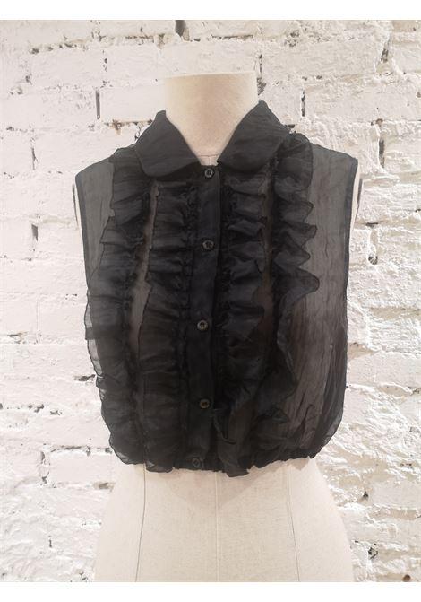 Miu Miu black shirt Miu Miu | Camicia | BF01850AWSMANICATA