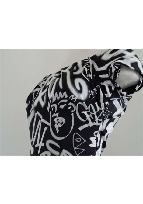 Moschino Couture Black White Graffiti Dress NWOT Moschino | Abito | AF017150BIANCO NERO
