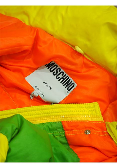 Moschino jeans multicolured bomber jacket Moschino | Jackets | CR0181X0SSZMULTI