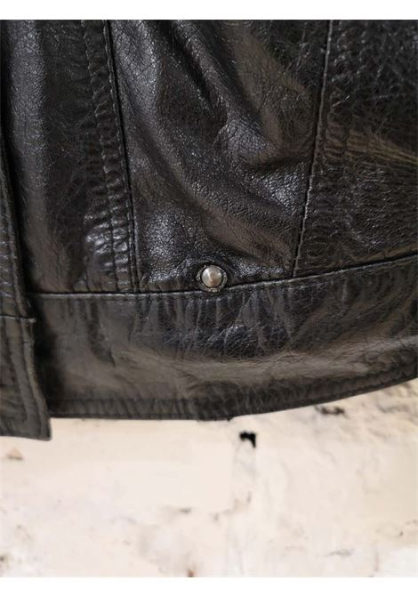 Moschino Black Vestire Humanum Est Jacket moschino | Jacket | VESTIREHUMANUM EST