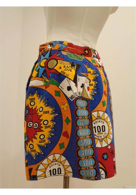 Moschino Pinball print Vintage Skirt moschino | Gonna | VXR0160225FLIPPER