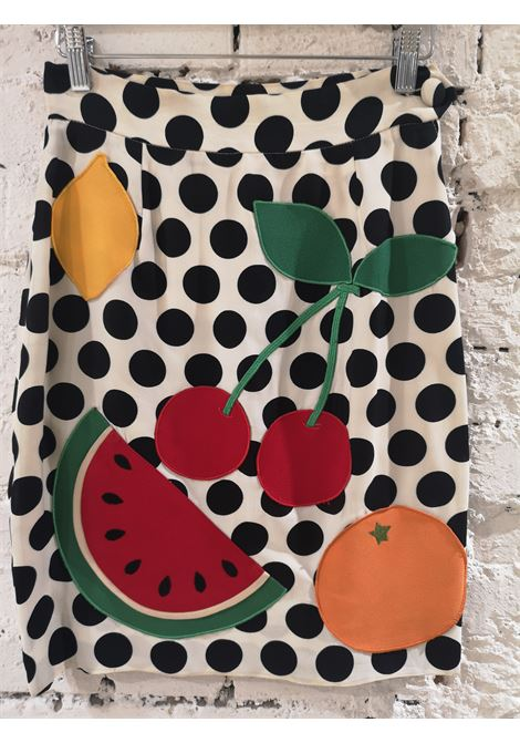 Moschino watermelon collection cotton skirt moschino | Skirt | VXR0160232MARRONE