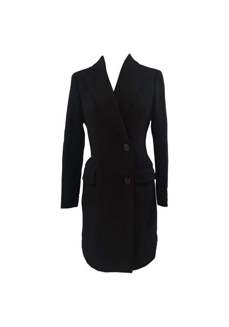 Moschino black wool long coat Moschino | Cappotto | VXR016025NERO