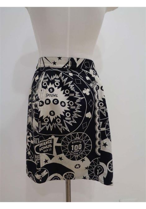 Moschino Moschifo Black & White Skirt Moschino | Skirts | VXR016078B.NERO