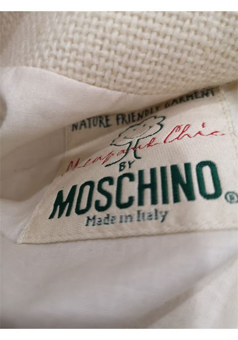 Moschino Nature Friendly white Jacket moschino | Giacca | VXR01850XSA-
