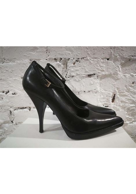 Prada Black Leather Decollete Prada | Scarpe | AM01840XSJNERO