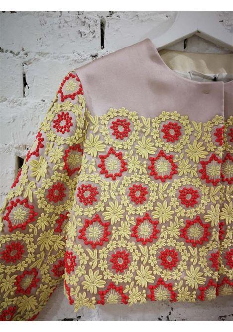 Prada Pink Yellow Red Flowers Jacket NWOT PRADA | Jacket | BF01818X0SSFIORI