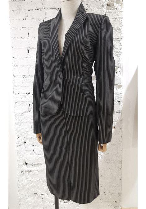 Roberto Cavalli grey bronze skirt suit Roberto Cavalli   Tailleur   AM01870GPLRIGHE
