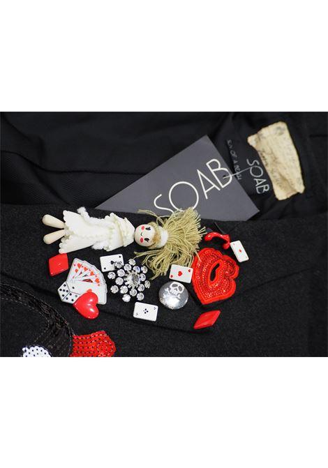 Soab wool frak totally handmade from a vintage Frak Soab Capri | Blazer | 03NERO