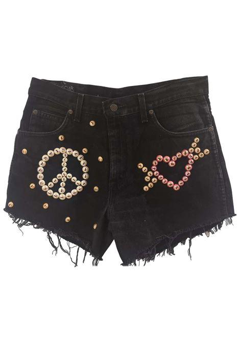 SOAB black cotton beads shorts Soab Capri | Shorts | 100TOPPE