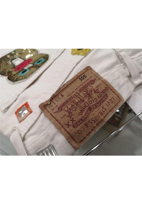 White customised SOAB shorts Soab Capri | Shorts | 106FIORI