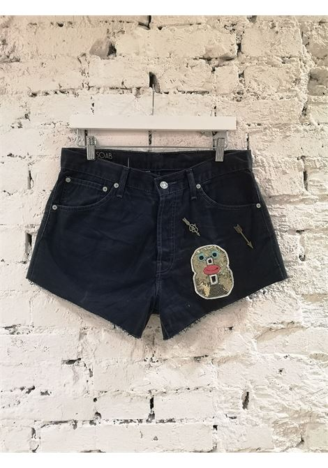Blue denim SOAB shorts Soab Capri | Shorts | 109FUCSIA
