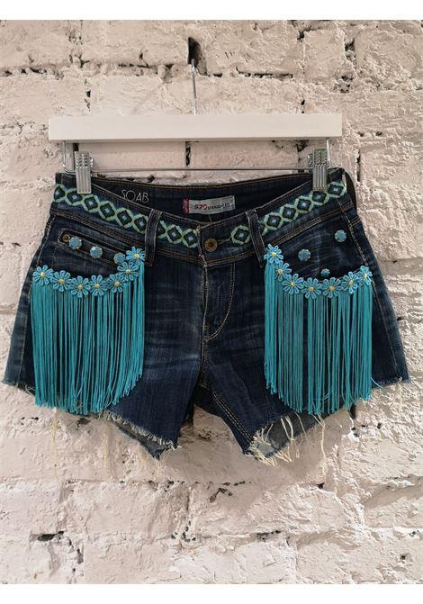 Blue denim SOAB shorts Soab Capri | Shorts | 114BLU COT