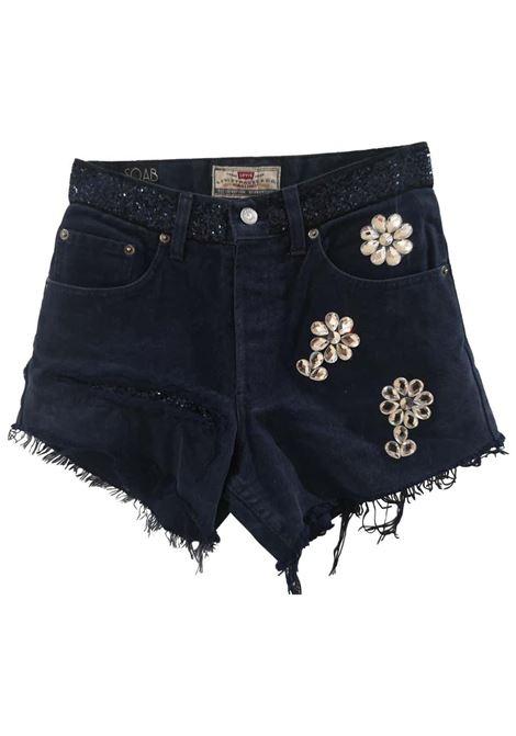 Blue denim SOAB shorts Soab Capri | Shorts | 115DENIM
