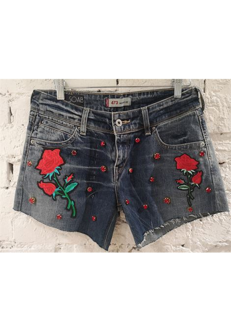 Blue denim SOAB shorts Soab Capri | Shorts | 117ROSSE