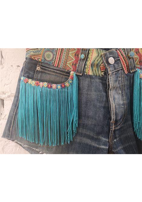 Blue denim SOAB shorts Soab Capri | Shorts | 119PASSAM