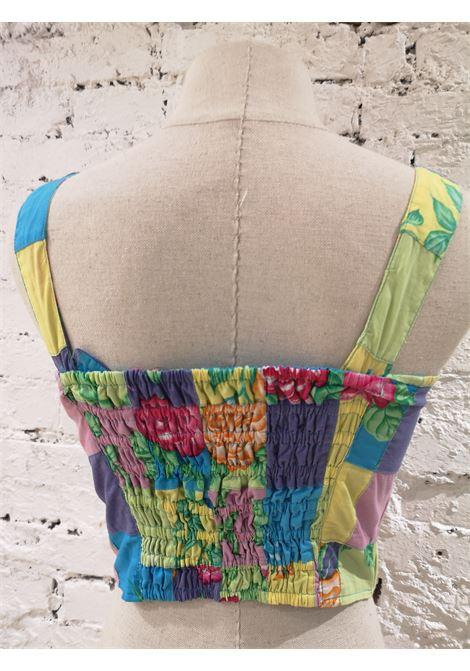 SOAB multicoloured cotton buttons top  Soab Capri |  | 226