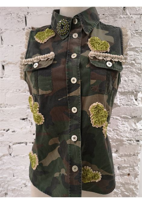 SOAB Camouflage swarovski gilet Soab Capri | Gilet | 26MILITARE