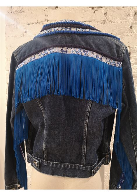 SOAB Denim fringes jacket Soab Capri | Jackets | 38JEANS