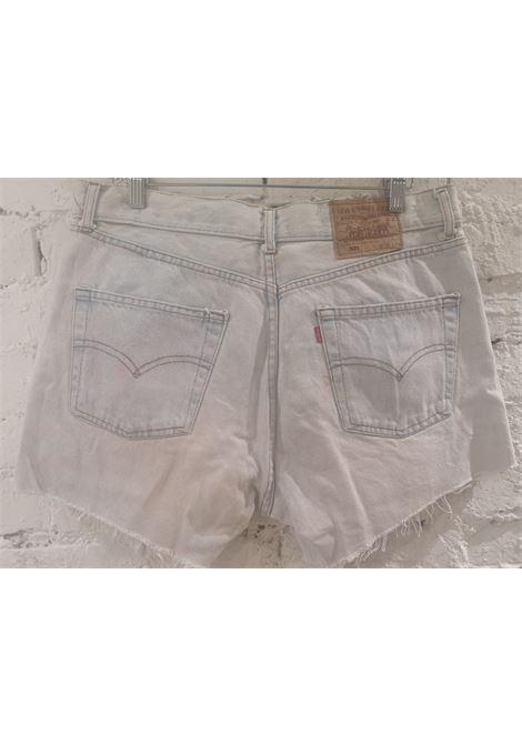 Light blue denim SOAB shorts Soab Capri | Shorts | 46PALLIDO