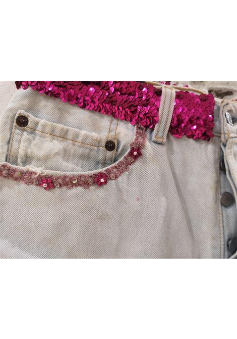 Light blue denim SOAB shorts Soab Capri | Shorts | 47STINTO