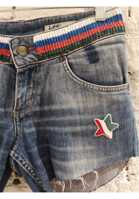 Blue denim SOAB shorts Soab Capri | Shorts | 69CORALLINI