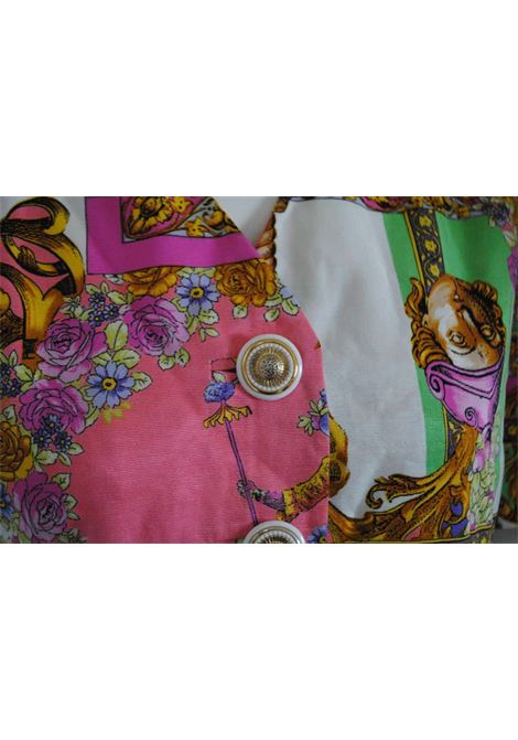 1980s Swish Multicolour Cotton Jacket Swish | Giacca | VXR0160135MULTI