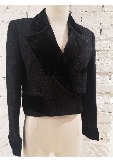Valentino black wool jacket Valentino | Giacca | VXR0160132BOUTIQUE