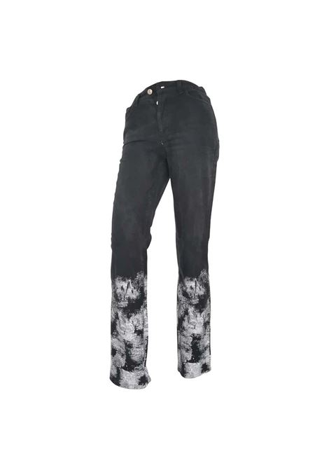 Valentino Cotton Jeans Valentino | Pantalone | VXR0160199JEANS