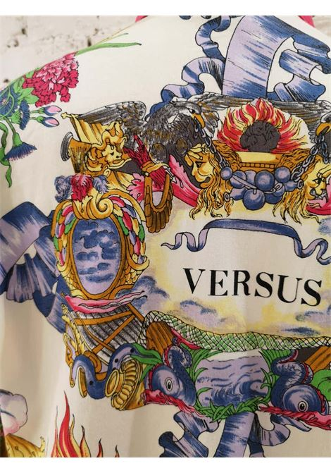 Versus by Gianni Versace Cotton Shirt Versace | Shirts | CAMICIA FUCSIAVERSUS