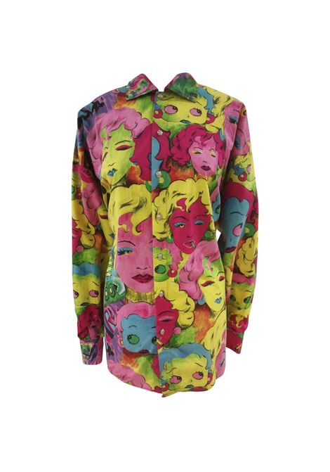 1993 Versace Marilyn Monroe Betty Boop Shirt Versace | Shirts | CAMICIA VELIERIMULTI