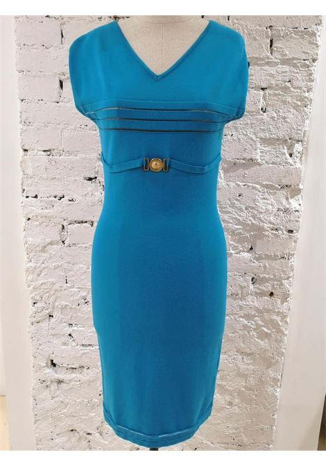 Versace Collecction Blue Dress NWOT Versace | Abito | FG02A090ETBLU