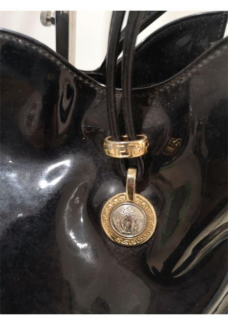 Versace black patent leather shoulder bag Versace | Borsa | SI018130XOLNERO