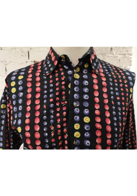 Versace cotton fruits shirt Versace | Shirts | VXR01801MULTI