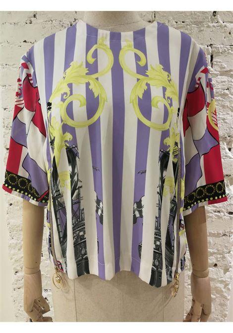 Versace multicoloured Blouse Versace | T-Shirt | VXR01805MULTI