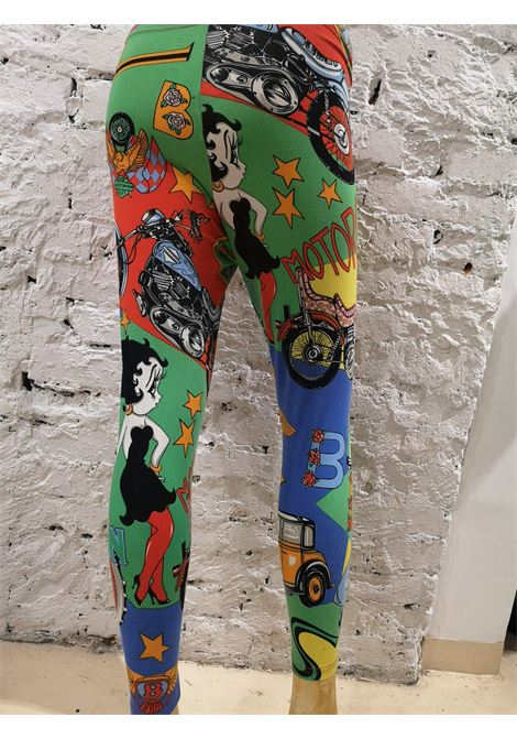 1992 Gianni Versace Betty Boop cotton leggins Versace | Leggins | VXR018120SWASBETTY B