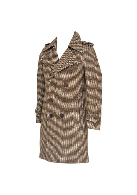 Brown Facis Ventalli coat VIntage | Giacca | VXR016013MULTI