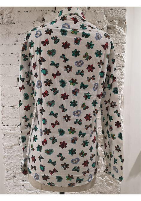 Vintage white cotton shirt VIntage | Camicia | VXR018012FIORI