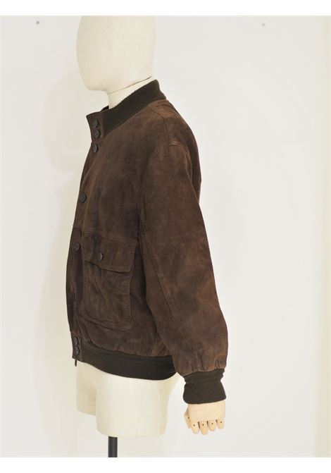 Brown suede bomber jacket  VIntage | Jackets | VXR018030-