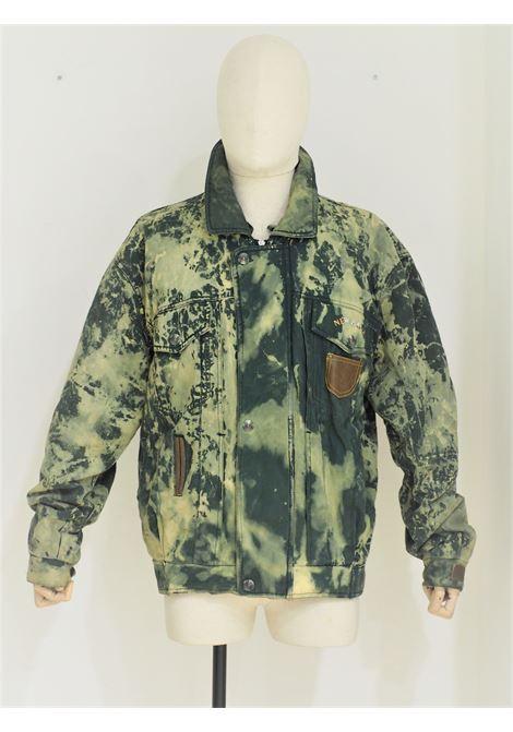 1990s vintage Green bomber jacket VIntage | Bomber | VXR01808FILA
