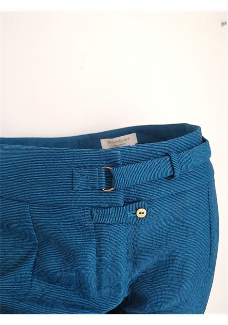 2012 Yves Saint Laurent blu pants NWOT yves saint laurent | Trousers | MO01708BLU