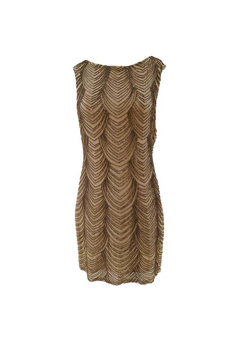 Nude silk tone with beads Dress VIntage | Dresses | EC019100XSÈPalice olivia