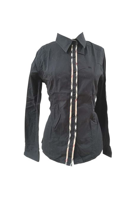 Burberry black cotton shirt Burberry | Camicia | VXR01910XZQANERA