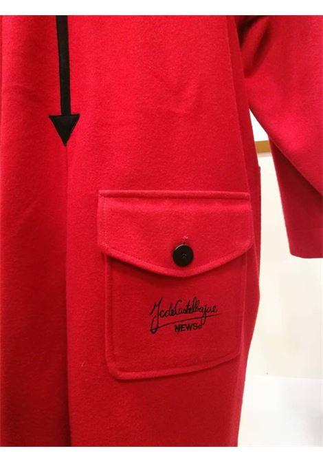 Rare J.C. de Castelbajac Red Coat J.C. de Castelbajac | Cappotto | LE01980XS00ROSSO