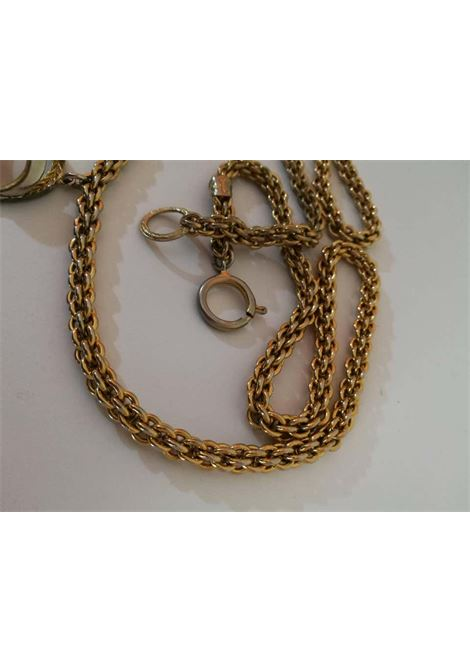 Chanel Gold Tone with CC logo Pendant Necklace CHANEL | Necklace | LE01910XS00CIONDOLO