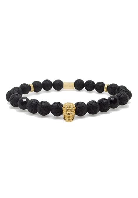 CHEVALIER PROJECT | Bracelet | B110GOLD SKULL