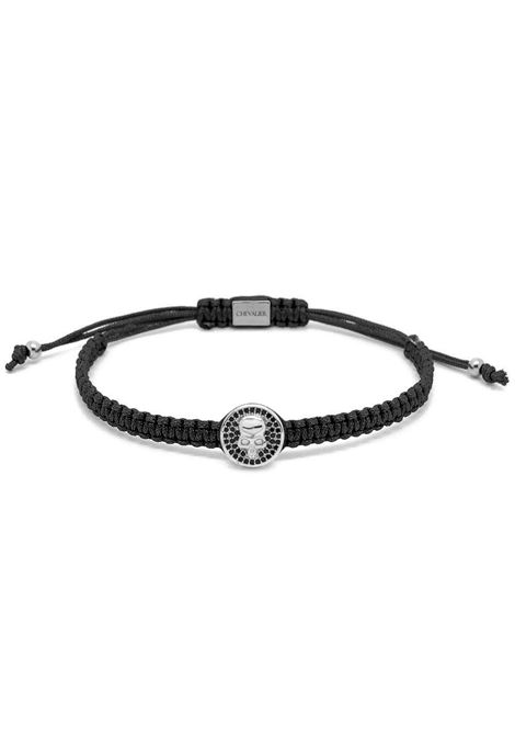 CHEVALIER PROJECT | Bracelet | C116SKULL BLACK
