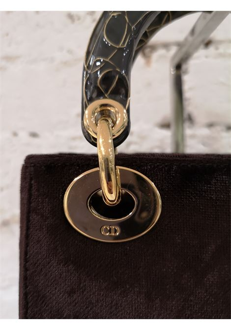 Christian Dior Brown Velvet Handle Bag Christian Dior | Borsa | GM01912X0MARRONE VELVET