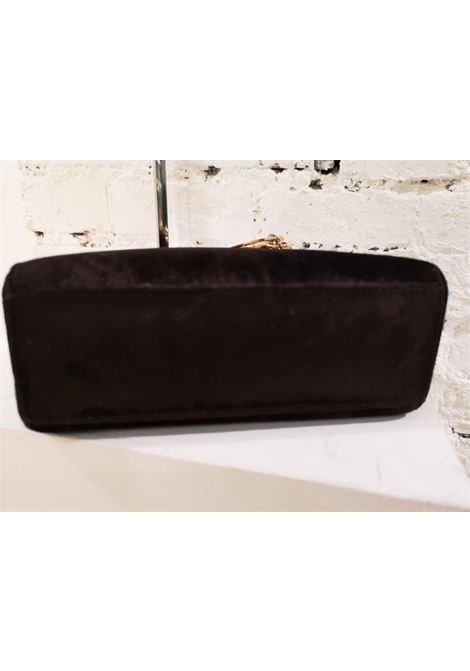 Christian Dior Brown Velvet Handle Bag Christian Dior | Bags | GM01912X0MARRONE VELVET
