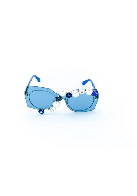 D style | Sunglasses  | BLUE-